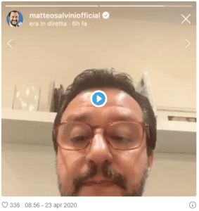 Matteo Salvini Instagram - Visibility Pack