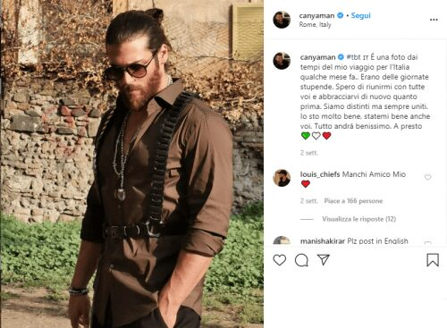 Can Yaman Instagram - Visibility Pack