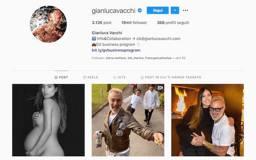 Gianluca Vacchi Instagram: l'imprenditore dei social?