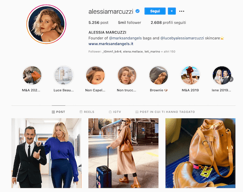 Alessia Marcuzzi Instagram, foto senza filtri e trucco