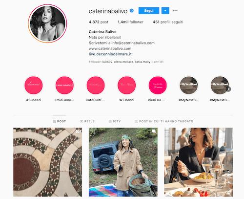 Caterina Balivo Instagram: foto sexy su...