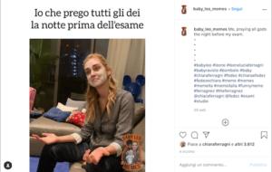 Leone Lucia Ferragni Instagram