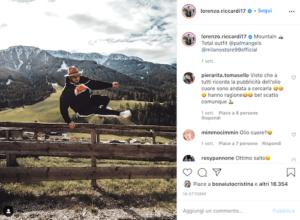 Lorenzo Riccardi Instagram