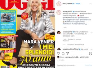 Mara Venier Instagram