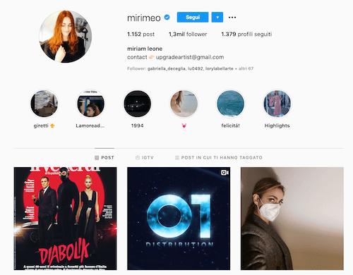 Miriam Leone Instagram; 1 nuova foto