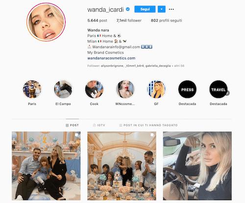 Wanda Nara Instagram: la figlia Francesca